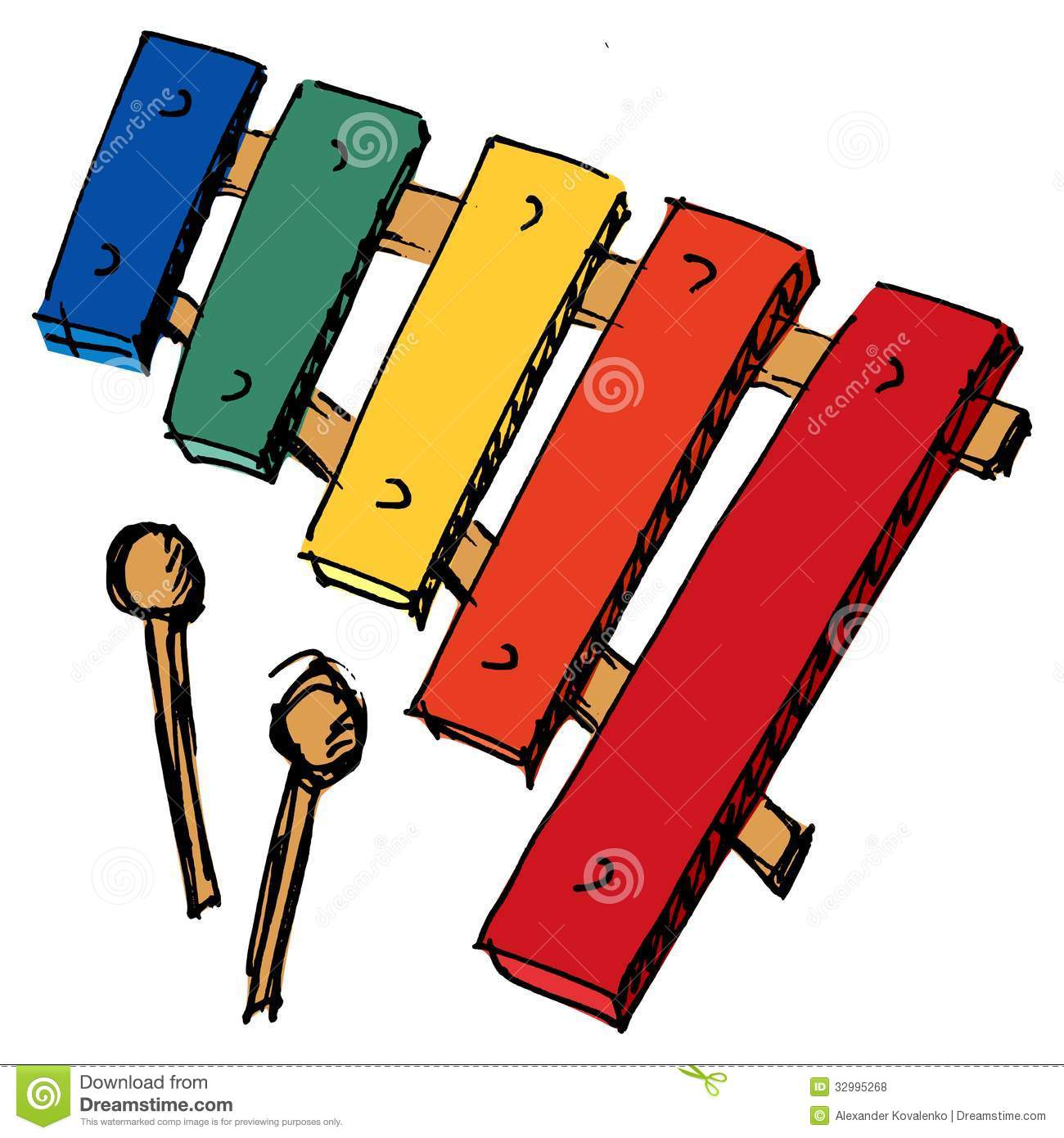Xylophone Royalty Free Stock Photos - Image: 32995268