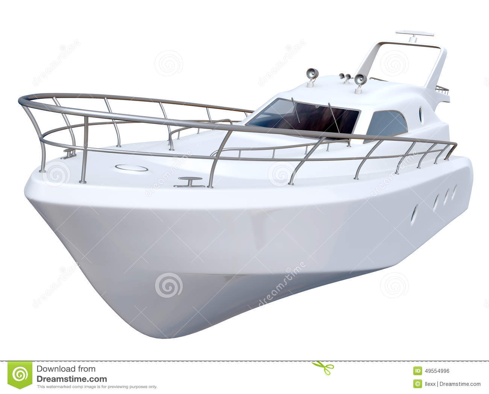 Yacht bianco