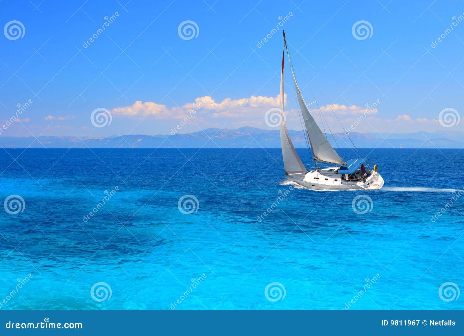 Yacht de navigation