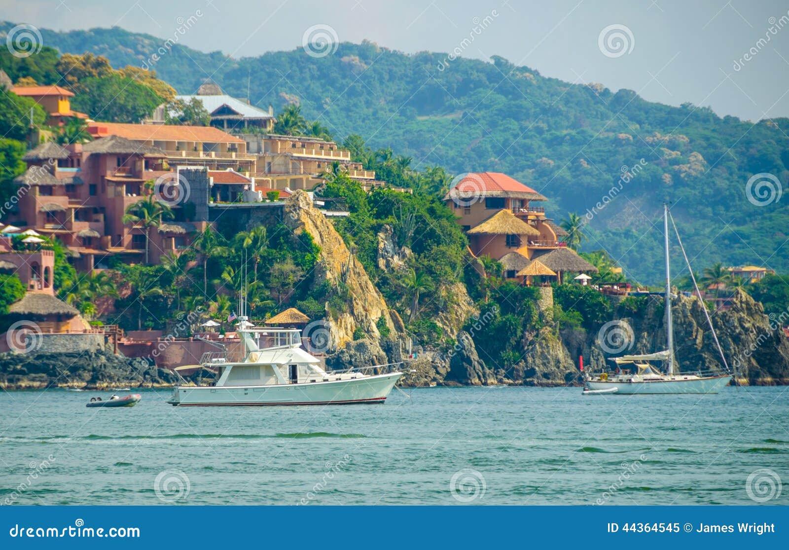 Yacht di Zihuatanejo