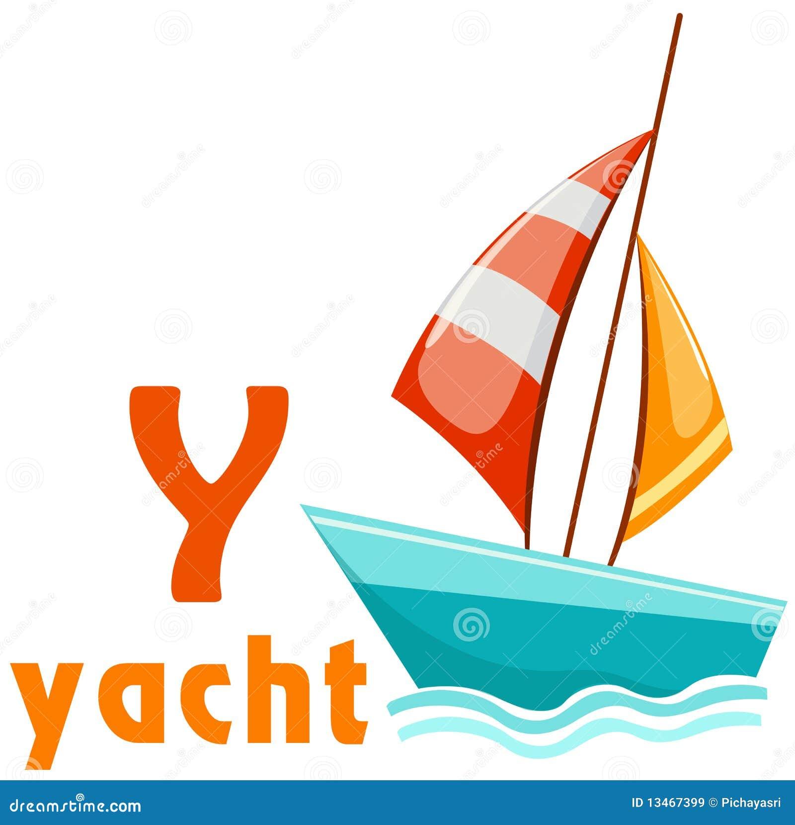Yacht för alfabet y