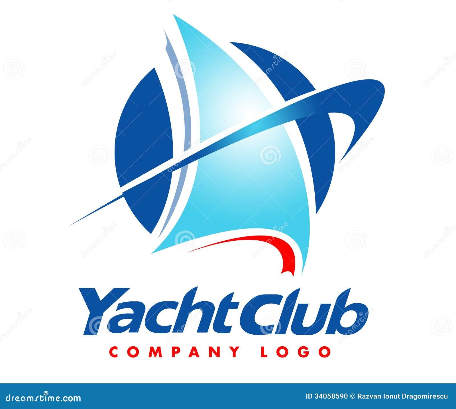 yacht logo stock photo image 34058590