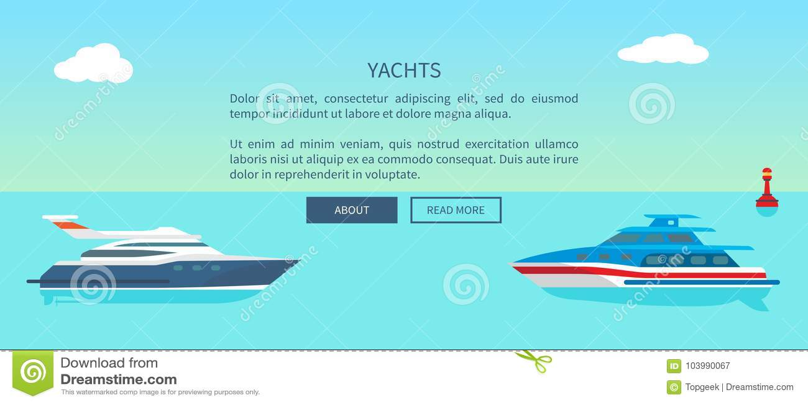 Yacht moderne pour la promotion de voyage de promenade et de bateau de mer
