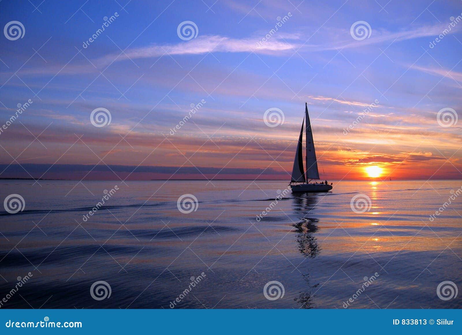 sunset sailing boats rocks - photo #44