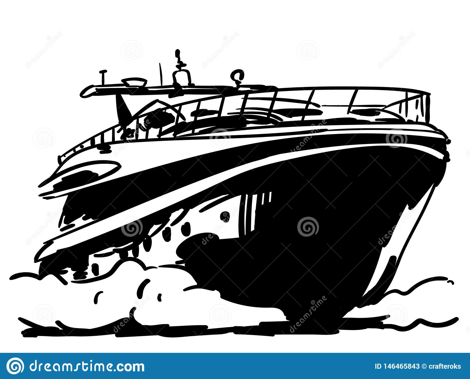 Yacht Vector Eps Vector, Eps, Logo, Icon, Silhouette