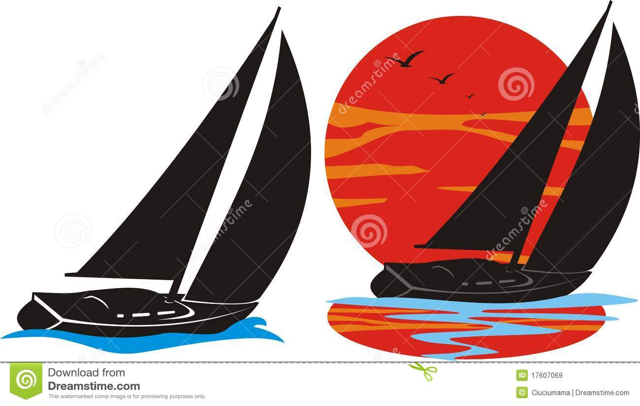 Yachting Logo Royalty Free Stock Images - Image: 17607069