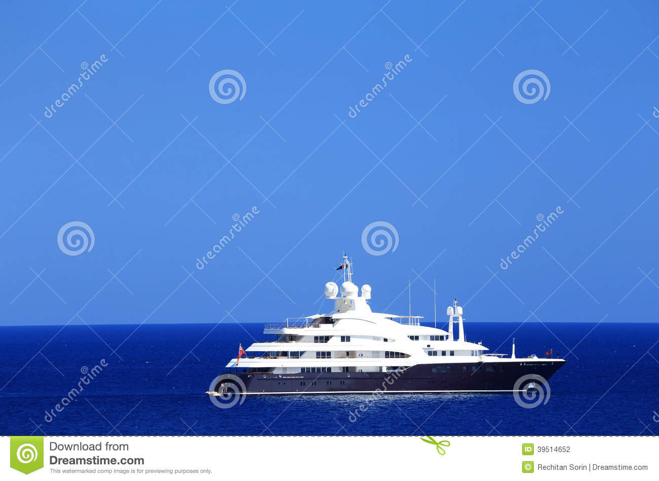 Yachting on the Mediteranean Sea