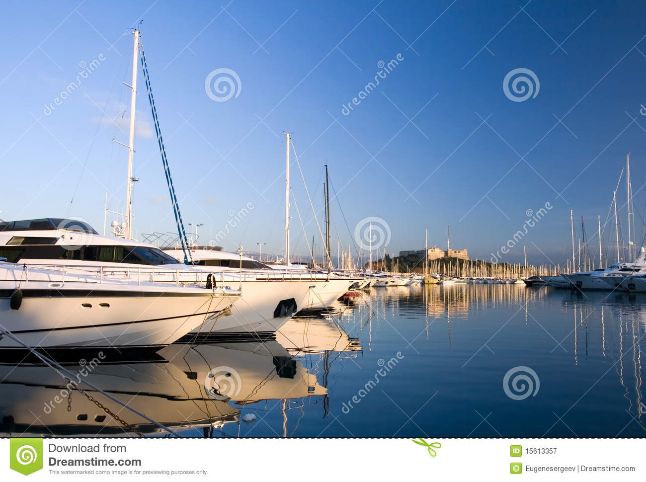 yachts in antibes royalty free stock photography image 15613357. Black Bedroom Furniture Sets. Home Design Ideas
