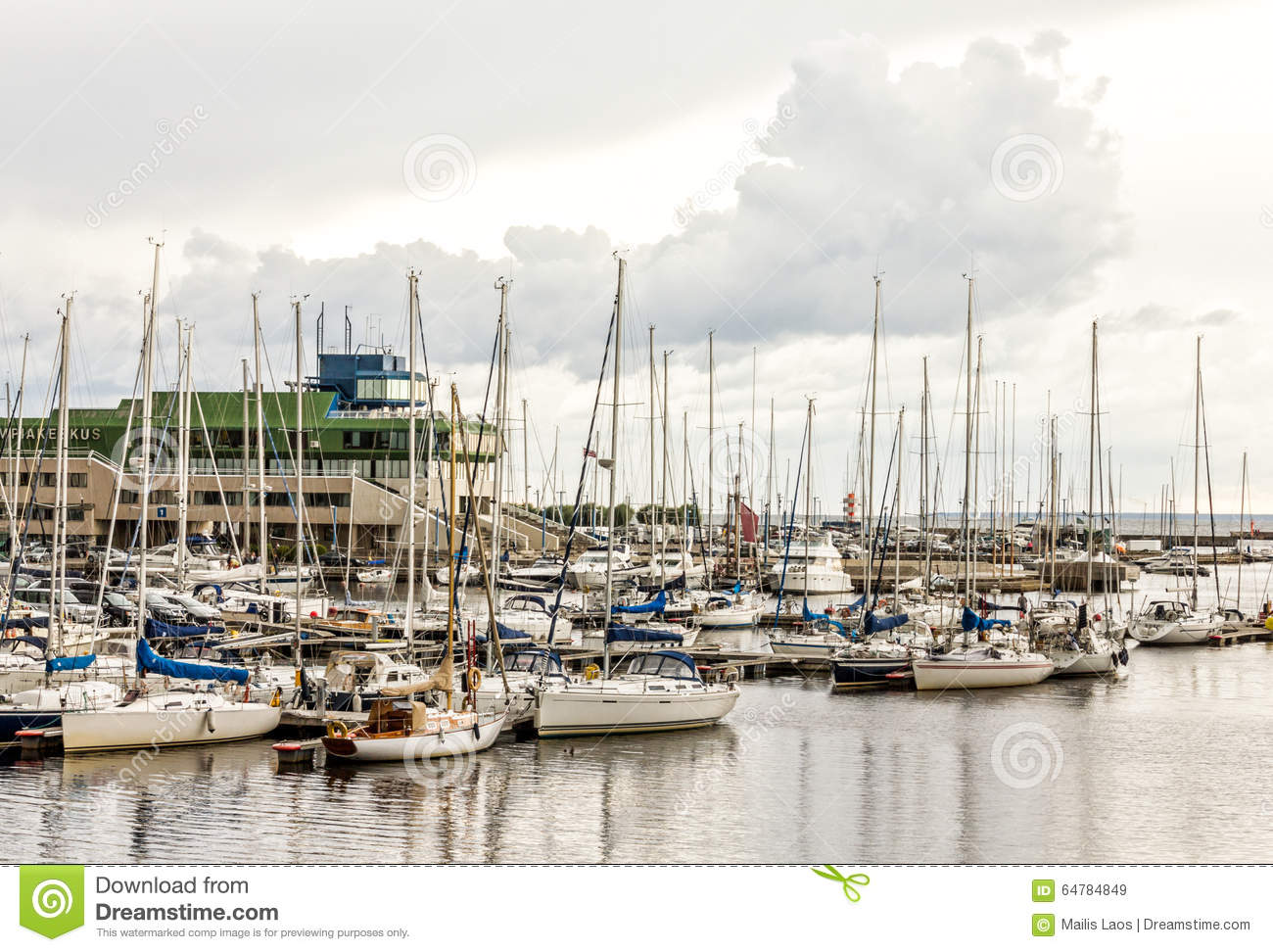 Download Yachts Harbor stock image. Image of yachting, harbour - 64784849