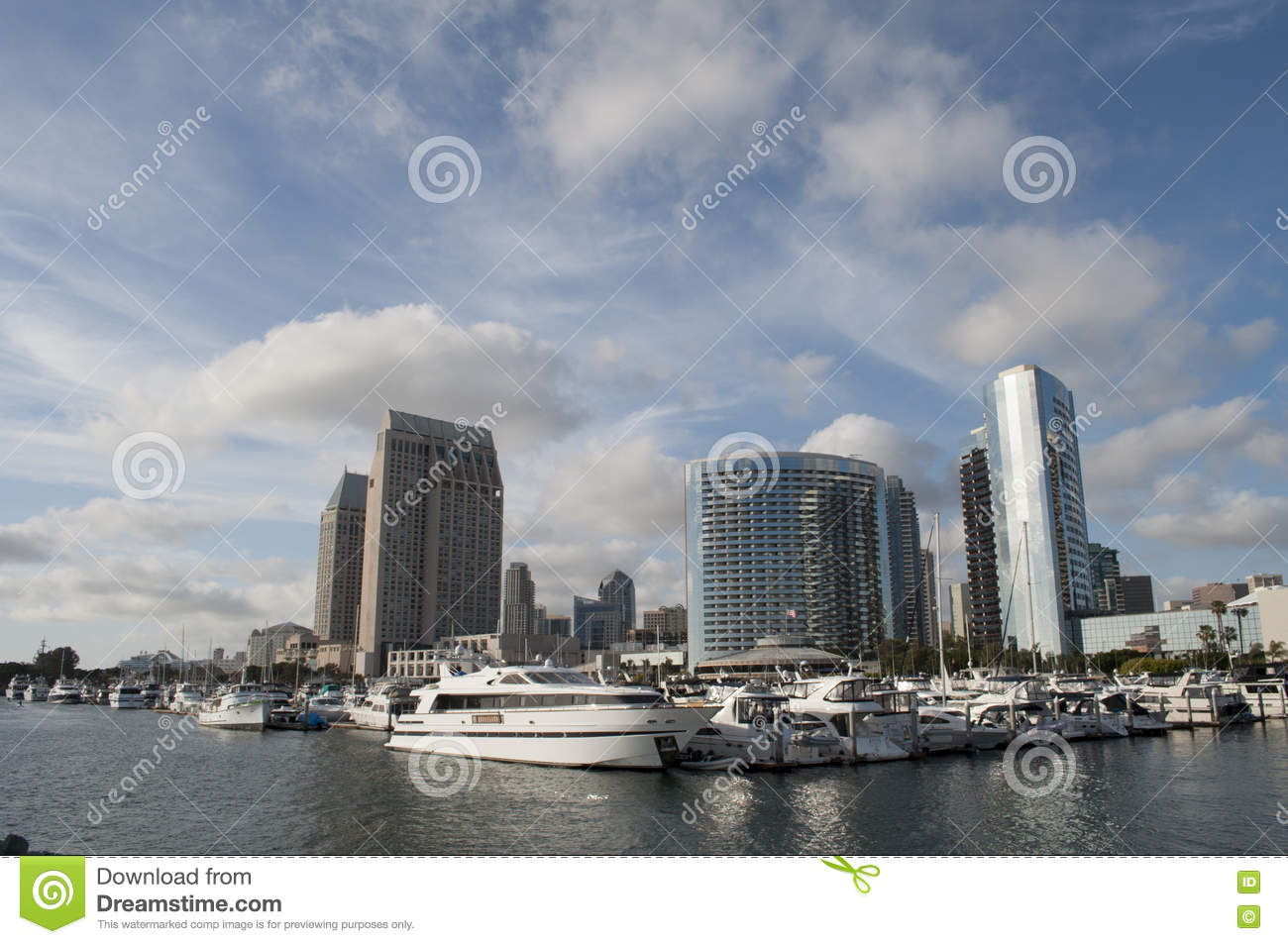 Yachts in San Diego