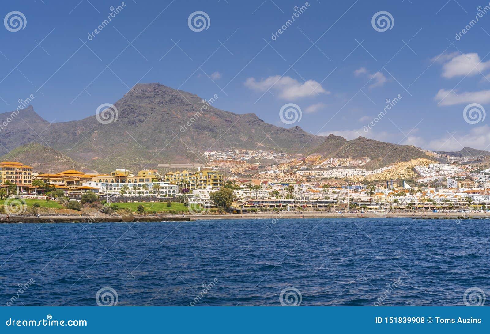 Yachttur längs Tenerife
