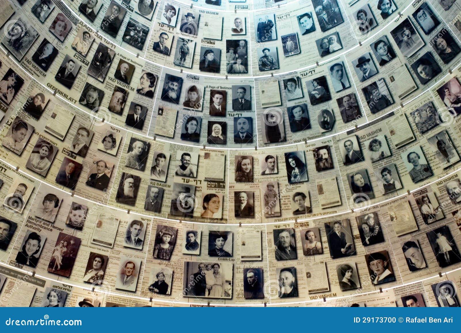 Yad Vashem - het Museum van de Geschiedenis van de Holocaust in Jeruzalem Israël