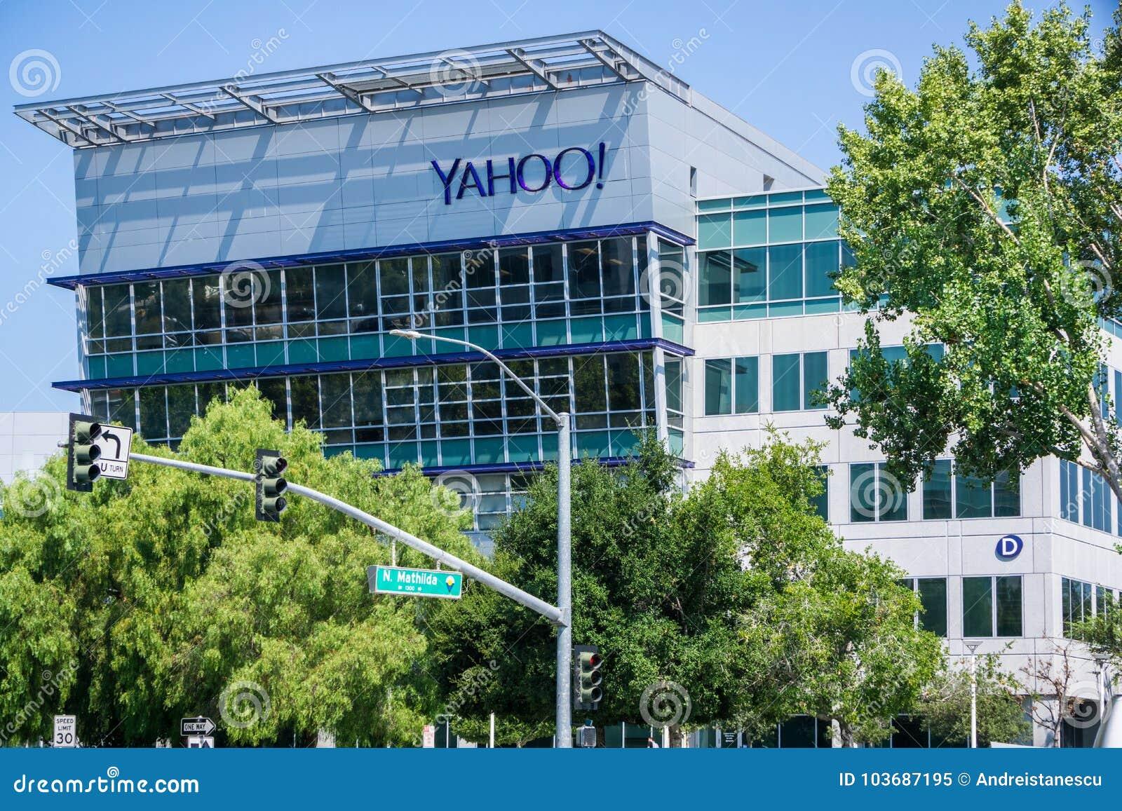 Yahoo-Hauptsitze in Silicon Valley