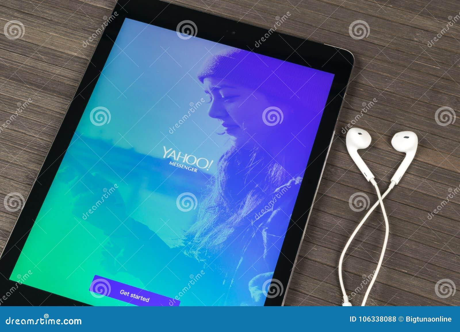 yahoo messeger mobile