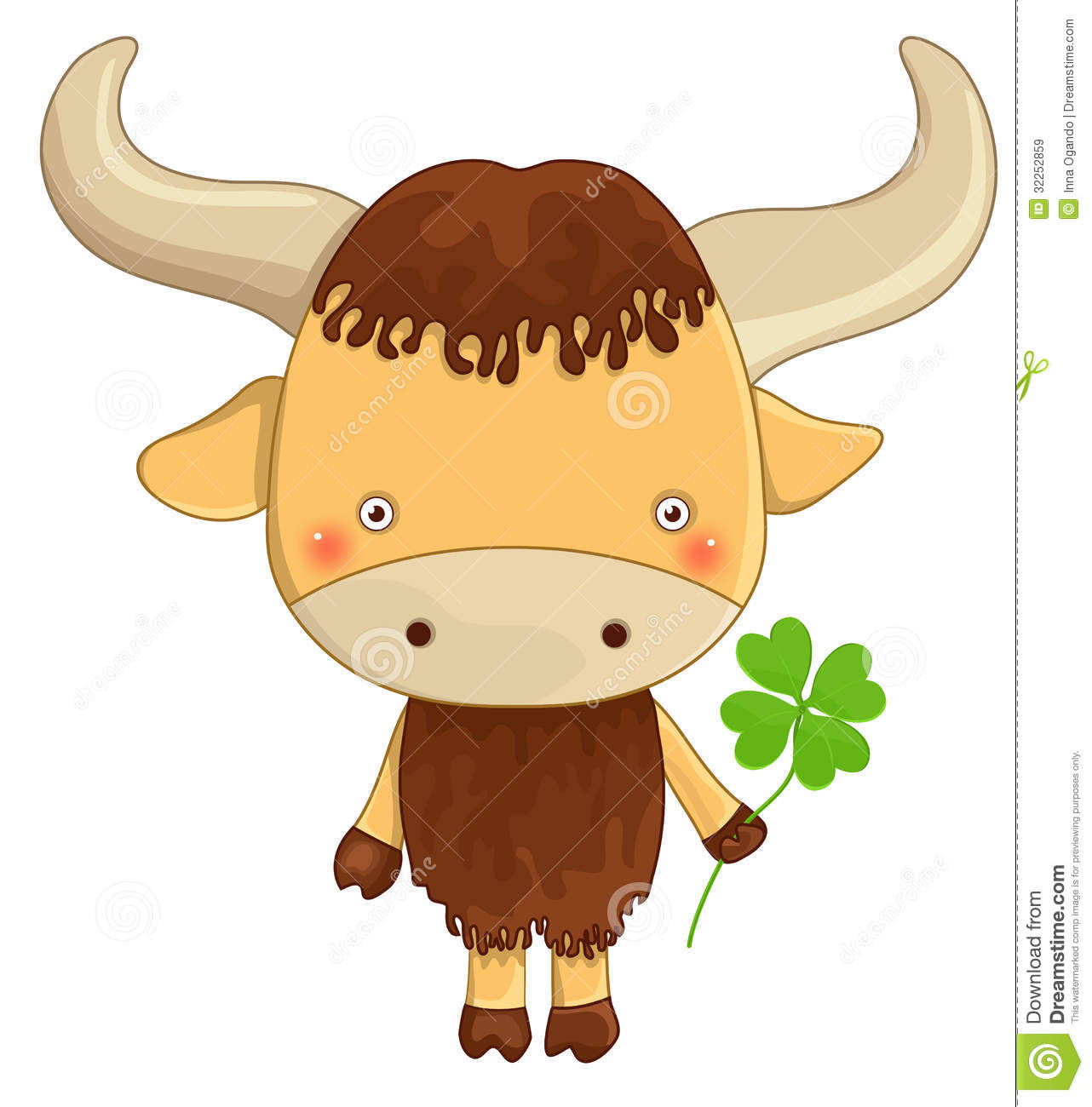 Yak Cartoon Character Royalty Free Stock Images - Image: 32252859