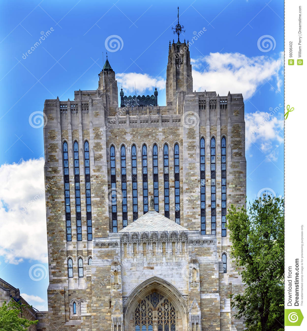 Yale University Sterling Memorial Library New-Haven Connecticut