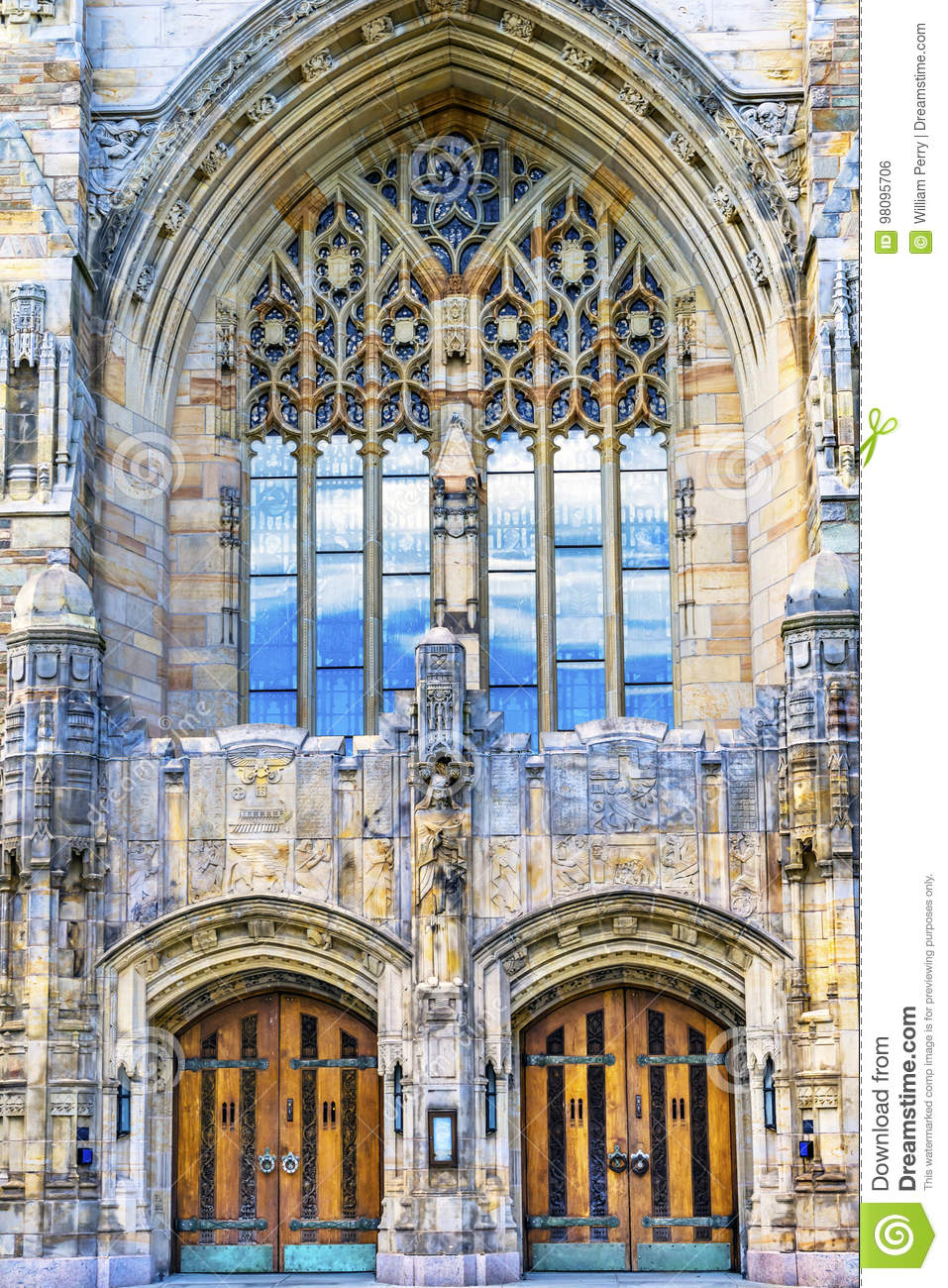 Yale University Sterling Memorial Library New Haven Connecticut