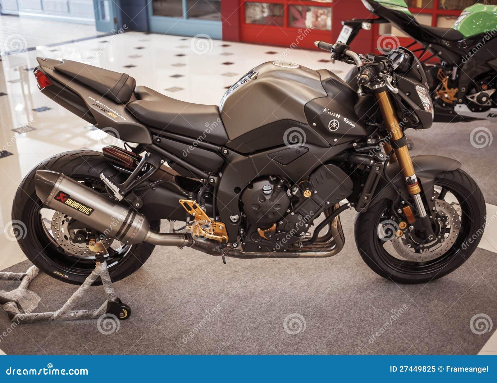 Yamaha fz8 on display editorial image image 27449825 for Yamaha motor credit card