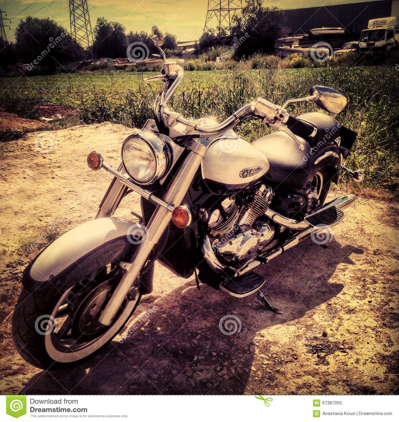 Yamaha Royal Star Bike Editorial Image Image 67387055
