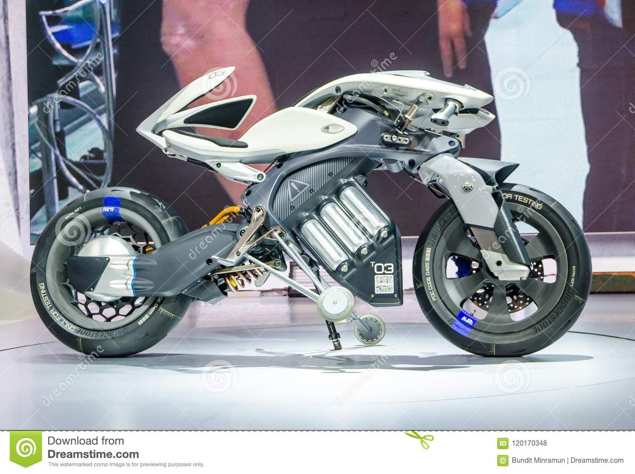 Yamaha Electric Motorcycle >> Yamaha T03 Electric Motorcycle Concept For Future Motorbike At