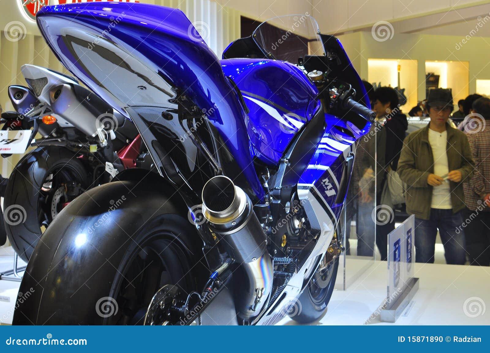 Yamaha yzr m1 tokyo motor show editorial image image of yamaha yzr m1 tokyo motor show championship grand publicscrutiny Images