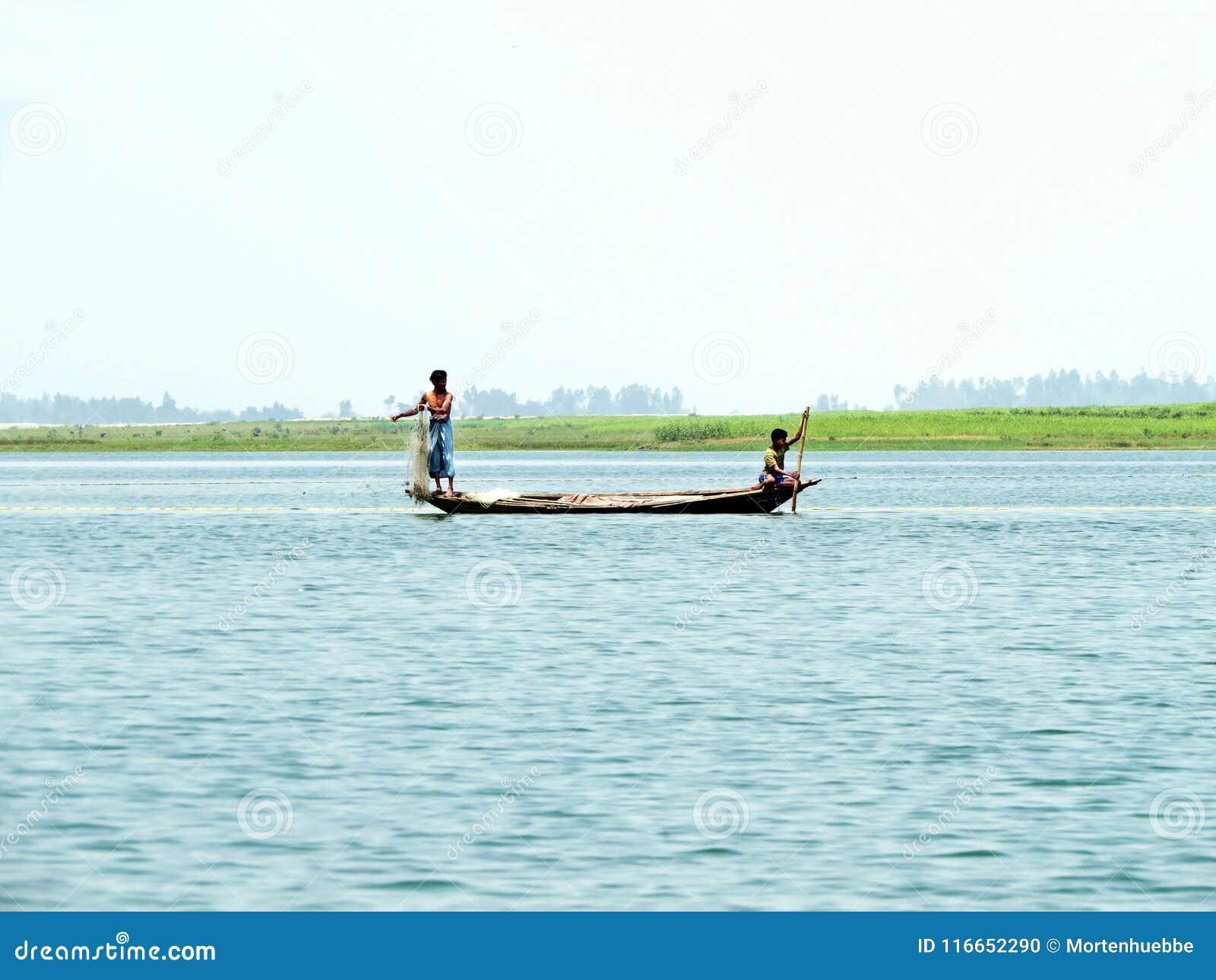 Yamuna-Fluss, der Brahmaputra, Bogra, Bangladesch