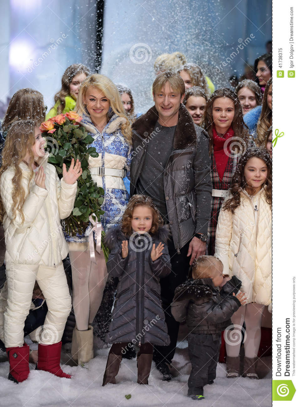 Rudkovskaya and Plushenko are working on the creation of a daughter 05/16/2018 24