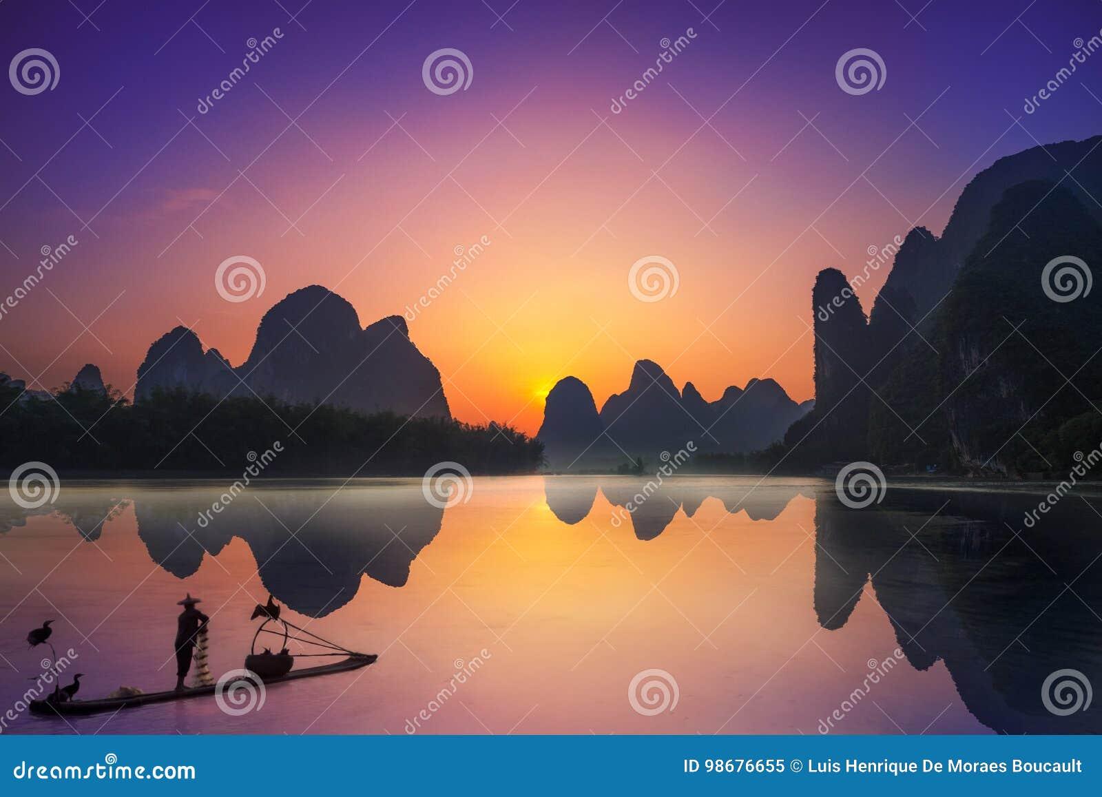 Yangshuo & rybak
