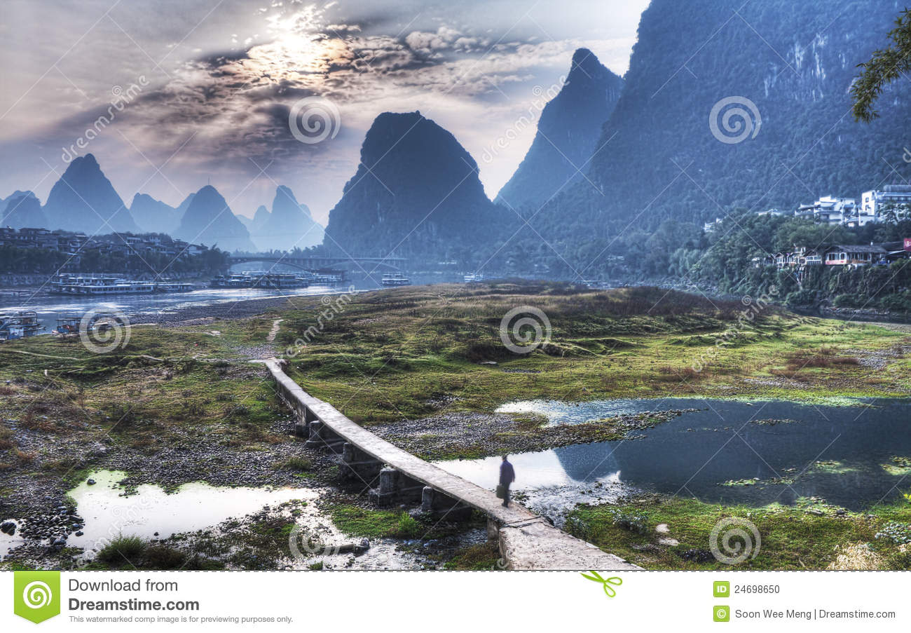 Yangshuo Scenery from China Guilin