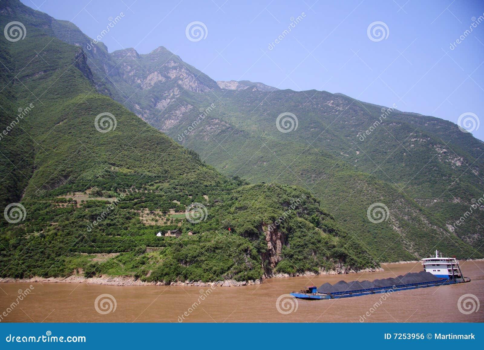 Yangtze-FlussKohletransport