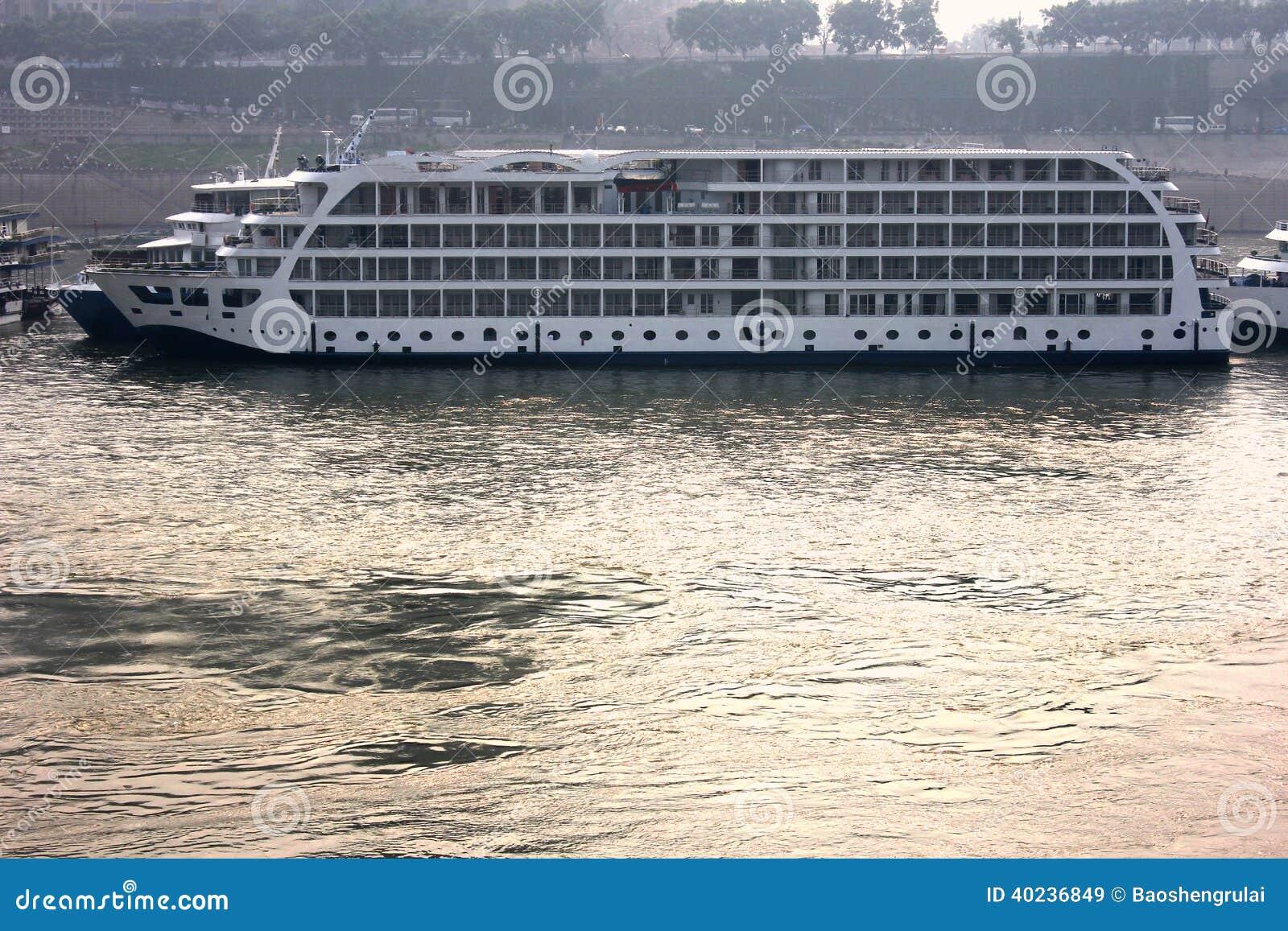 Yangtze River China River Boat Cruise Ship, Travel