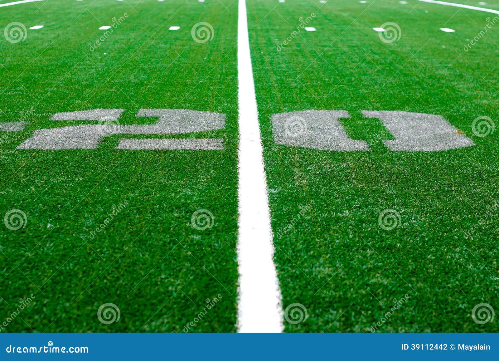 20 yard - Amerikaanse voetbalarena