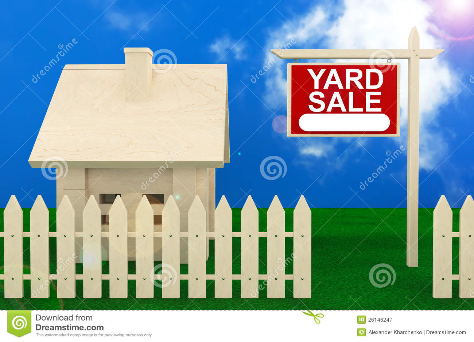 Alpena mi Real Estate Banner Yard Sale Banner Real Estate