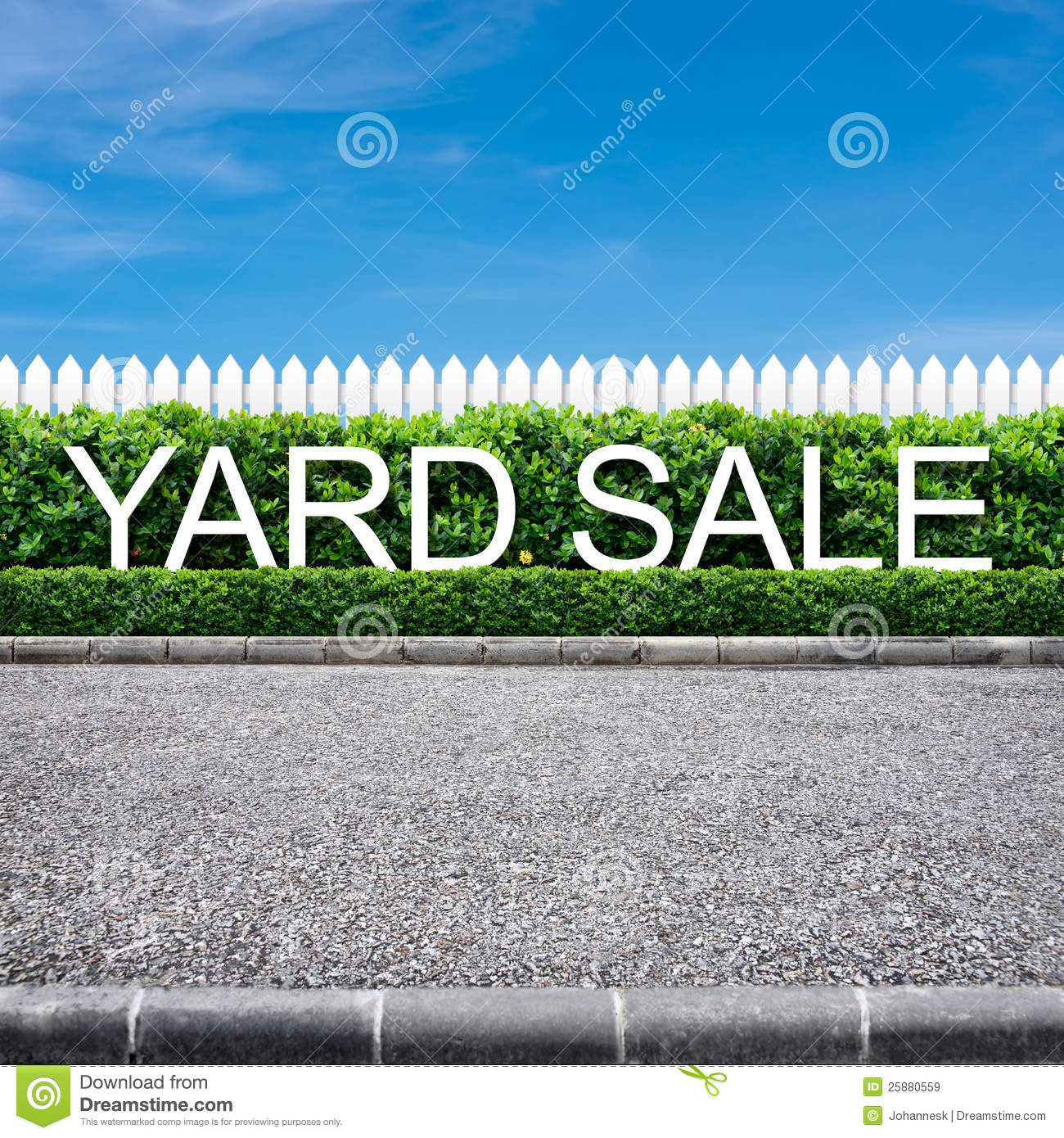 Clip Art Yard Sale Signs