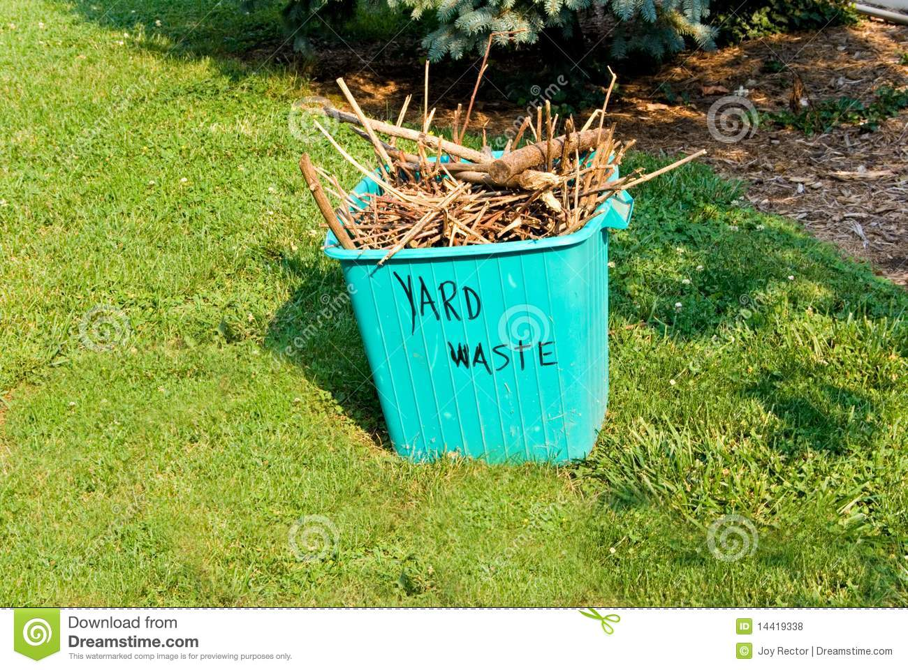 Yard waste container stock photo image of container 14419338 - Garden waste containers ...