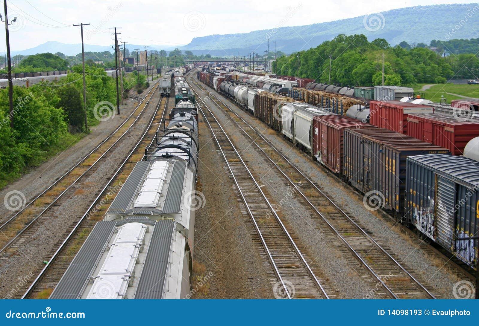 Yarda del tren de Chattanooga