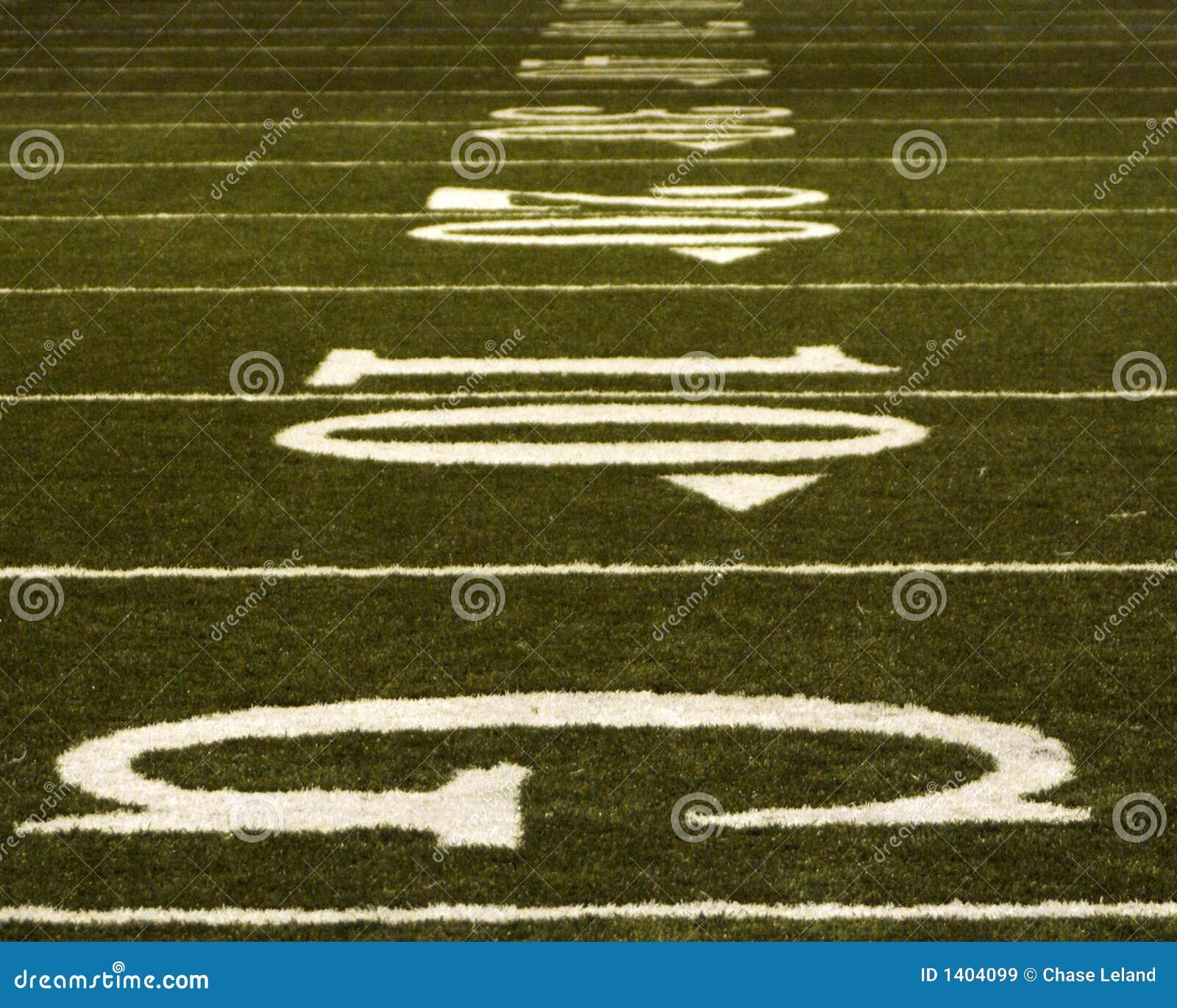 Yardlines du football