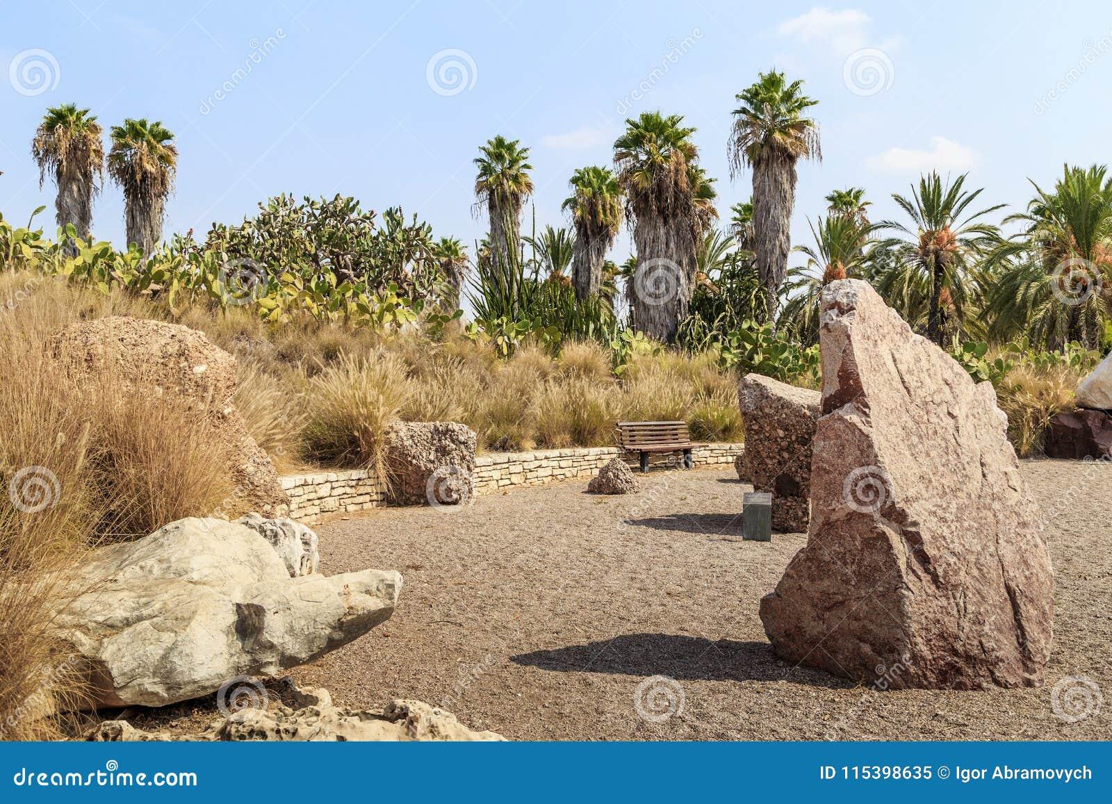 Yarkon Park, Garden Of Stones, Tel Aviv, Israel Editorial Image ...