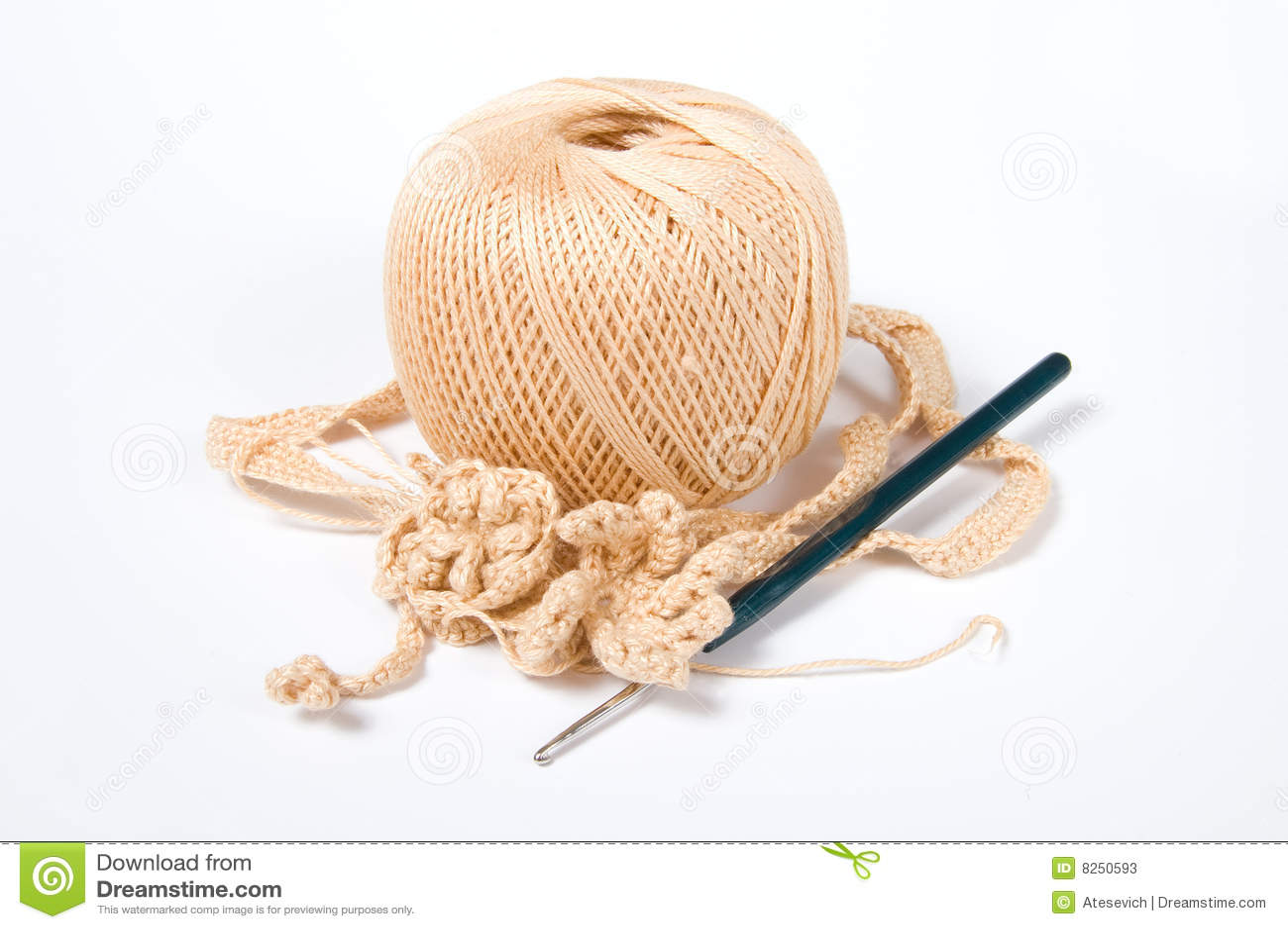 Вязание крючком крючки и нитки