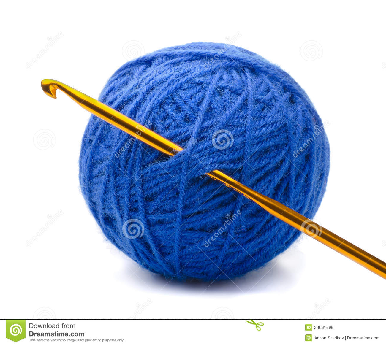 Free Knitting Icons Clipart : Yarn and crochet hook stock image of cord knitting