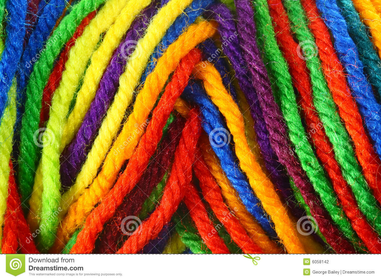 Yarn Macro Stock Photography - Image: 6058142