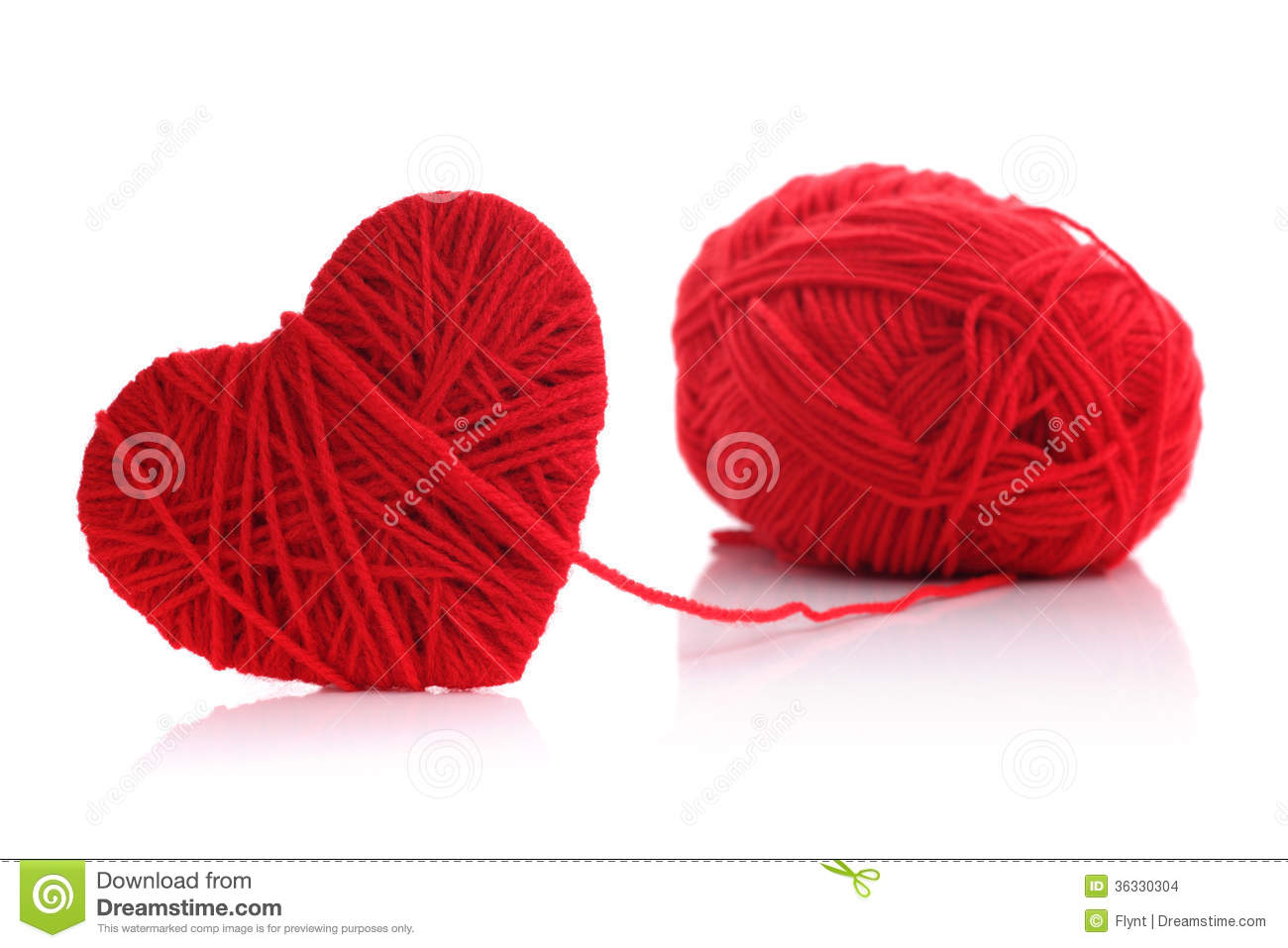 Ice Skates For Sale >> Yarn Of Wool In Heart Shape Symbol Stock Images - Image ...