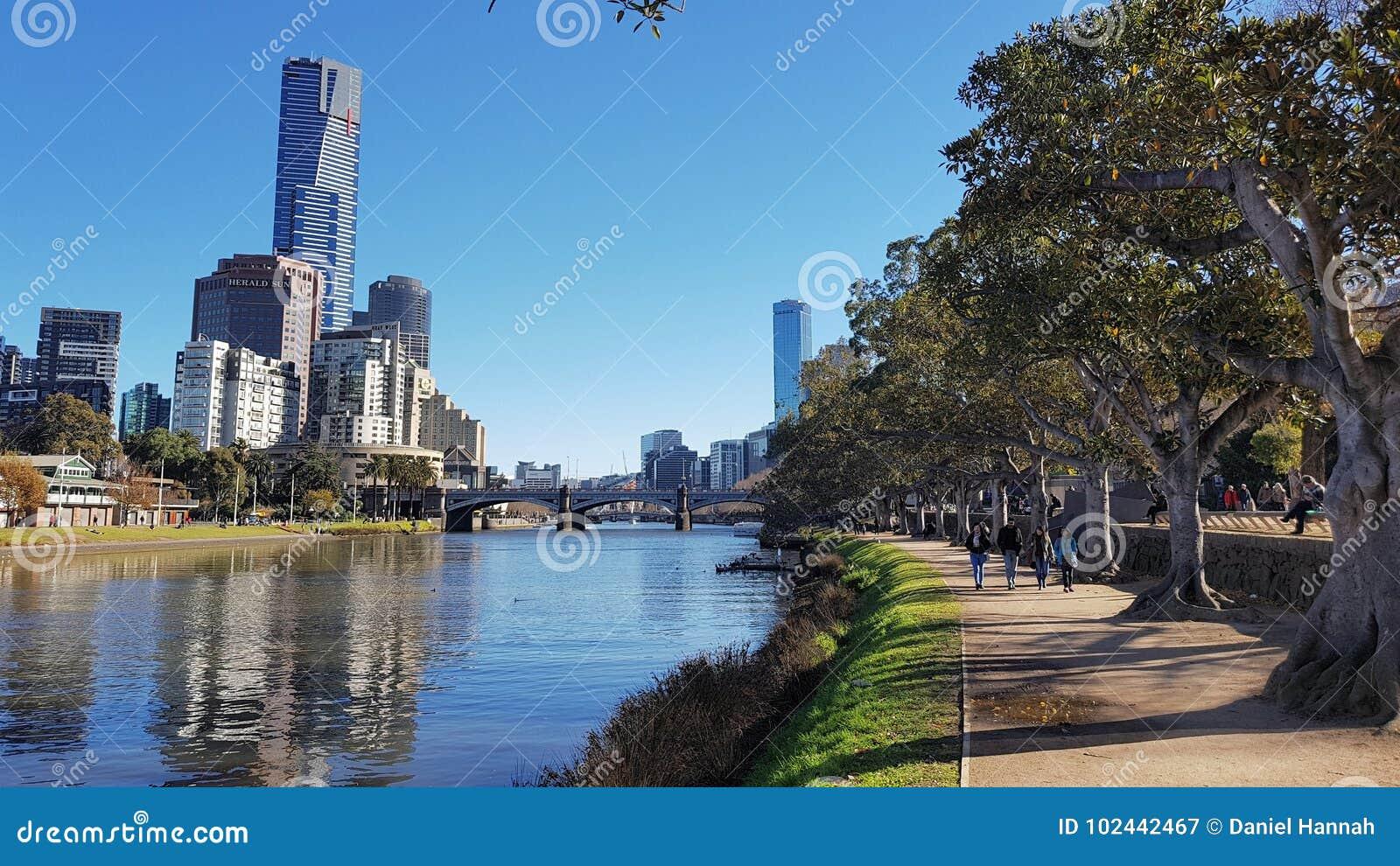 Yarra ποταμών της Μελβούρνης