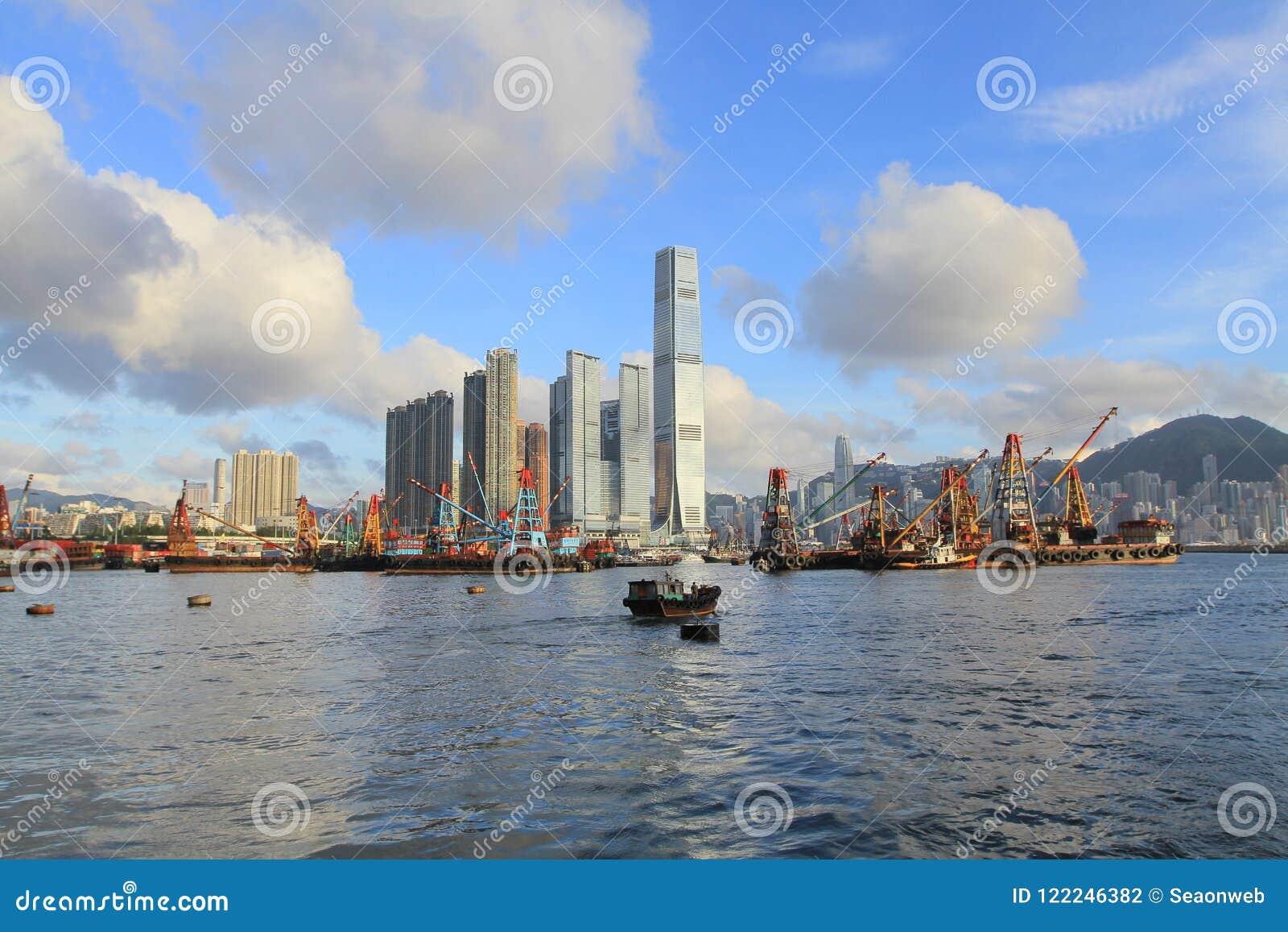 Yau Ma Tei Typhoon Shelter West-Kowloon