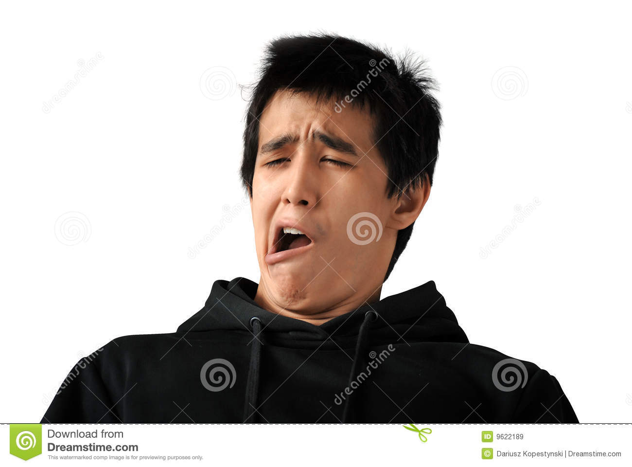 Yawning Student Royalty Free Stock Images - Image: 9622189