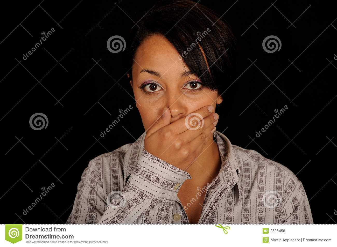 Yawning Woman Royalty Free Stock Photos - Image: 9536458