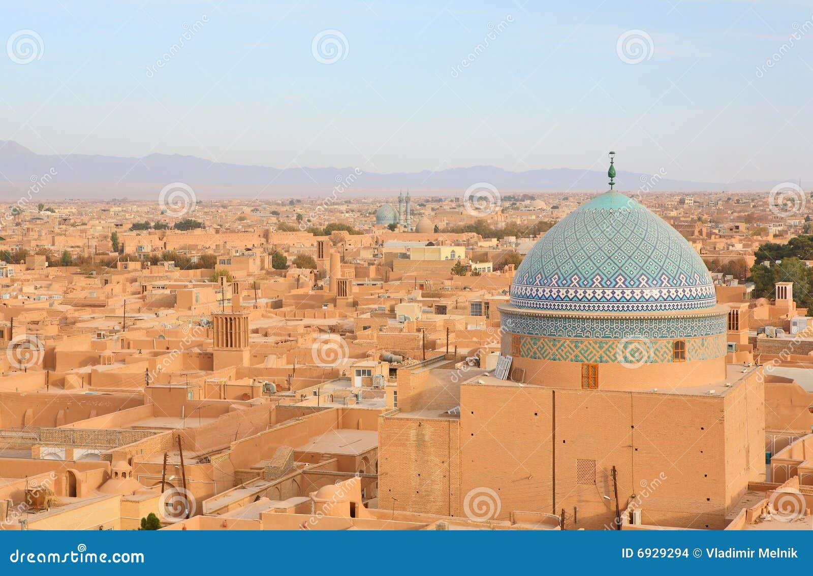 Yazd antique de l Iran de ville
