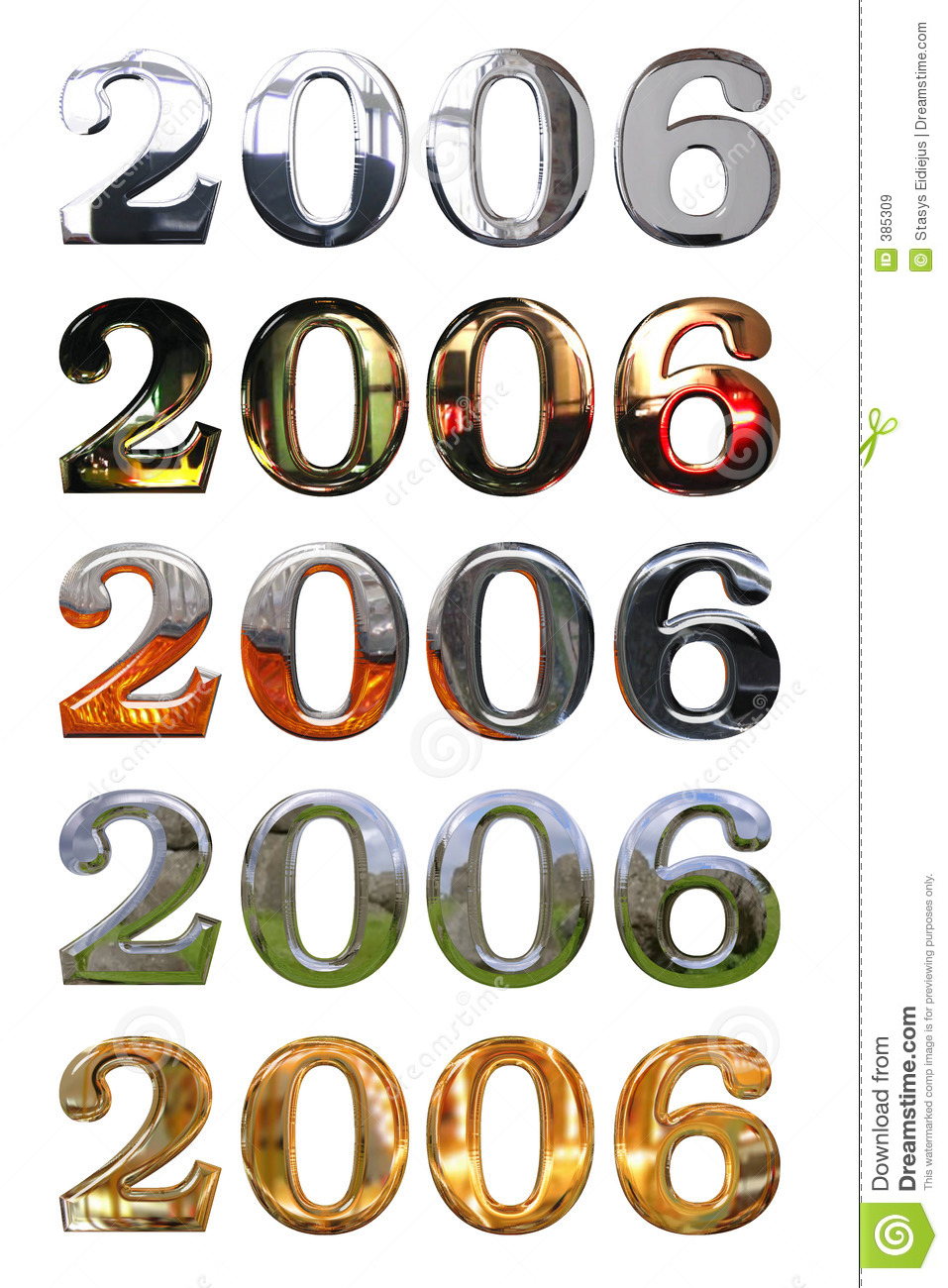 year 2006 royalty free stock images