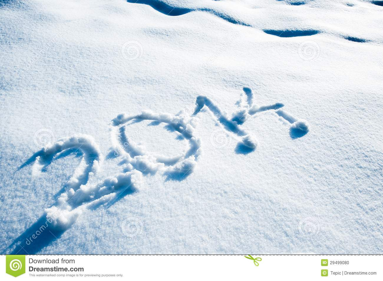2014 On The Snow Royalty Free Stock Photography - Image: 25503997