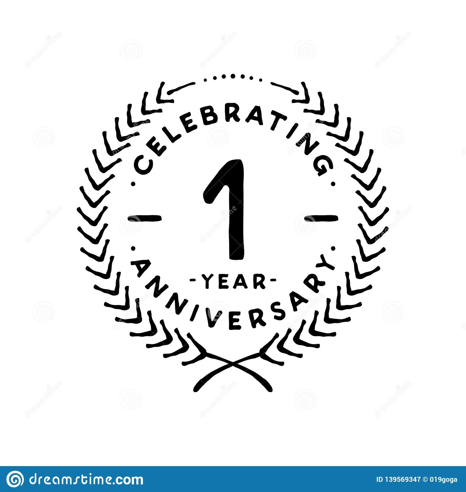 1 year design template 1st vector and illustration stock vector illustration of ceremony birthday 139569347 https www dreamstime com year anniversary celebration design template one year celebrating vector illustration st anniversary celebration logo first image139569347